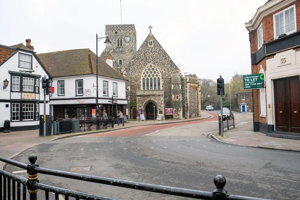Dartford Town Centre