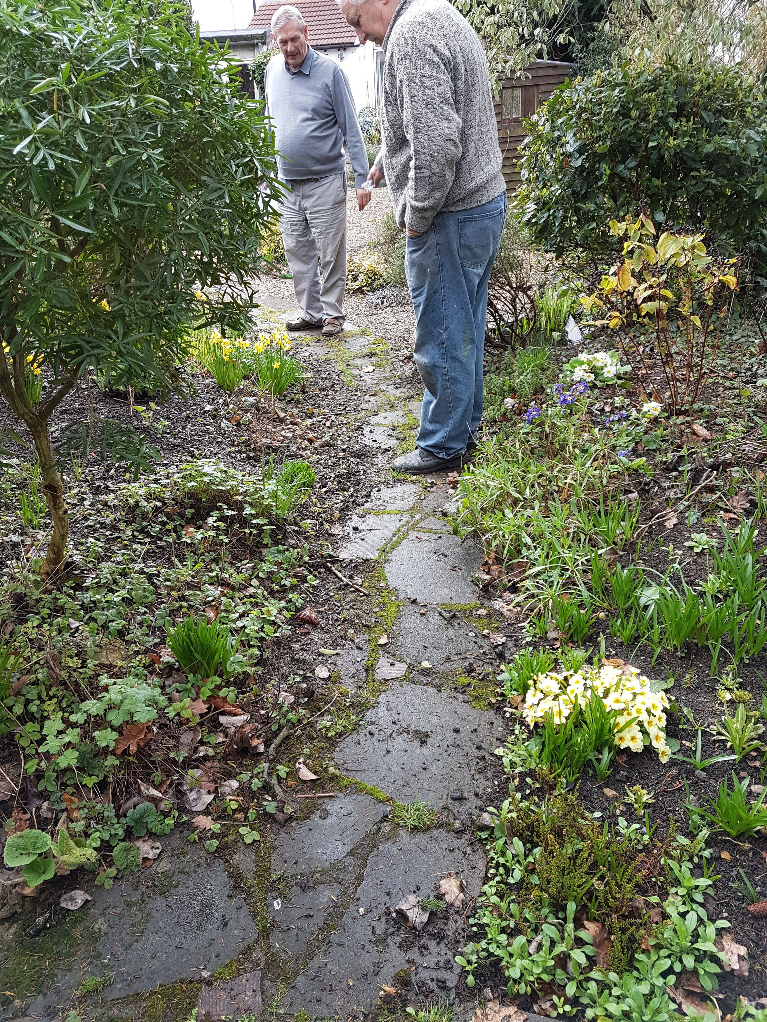 Does your garden path need a bit of TLC?