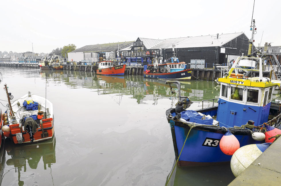 The harbour, Whitstable