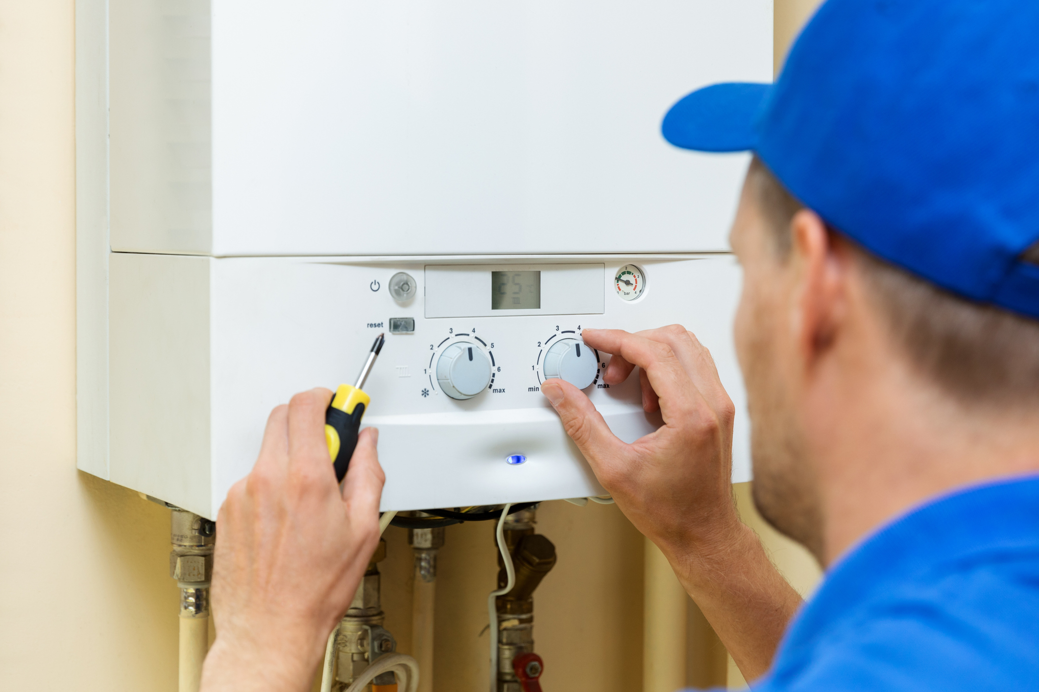 You should have your boiler serviced at least once every two years.