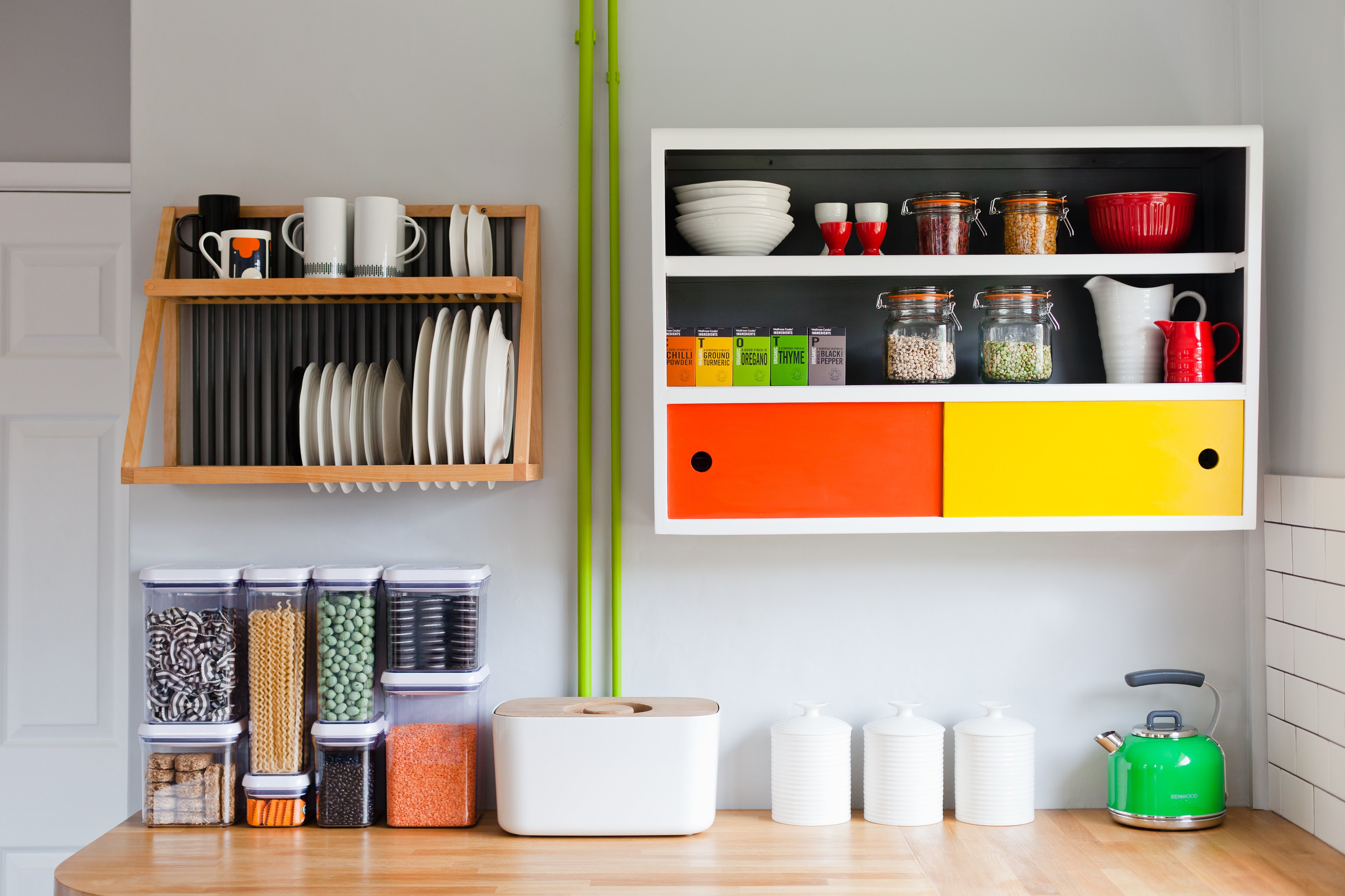Here are some great ways to really give new life to your kitchen! Photo by Megan Taylor.