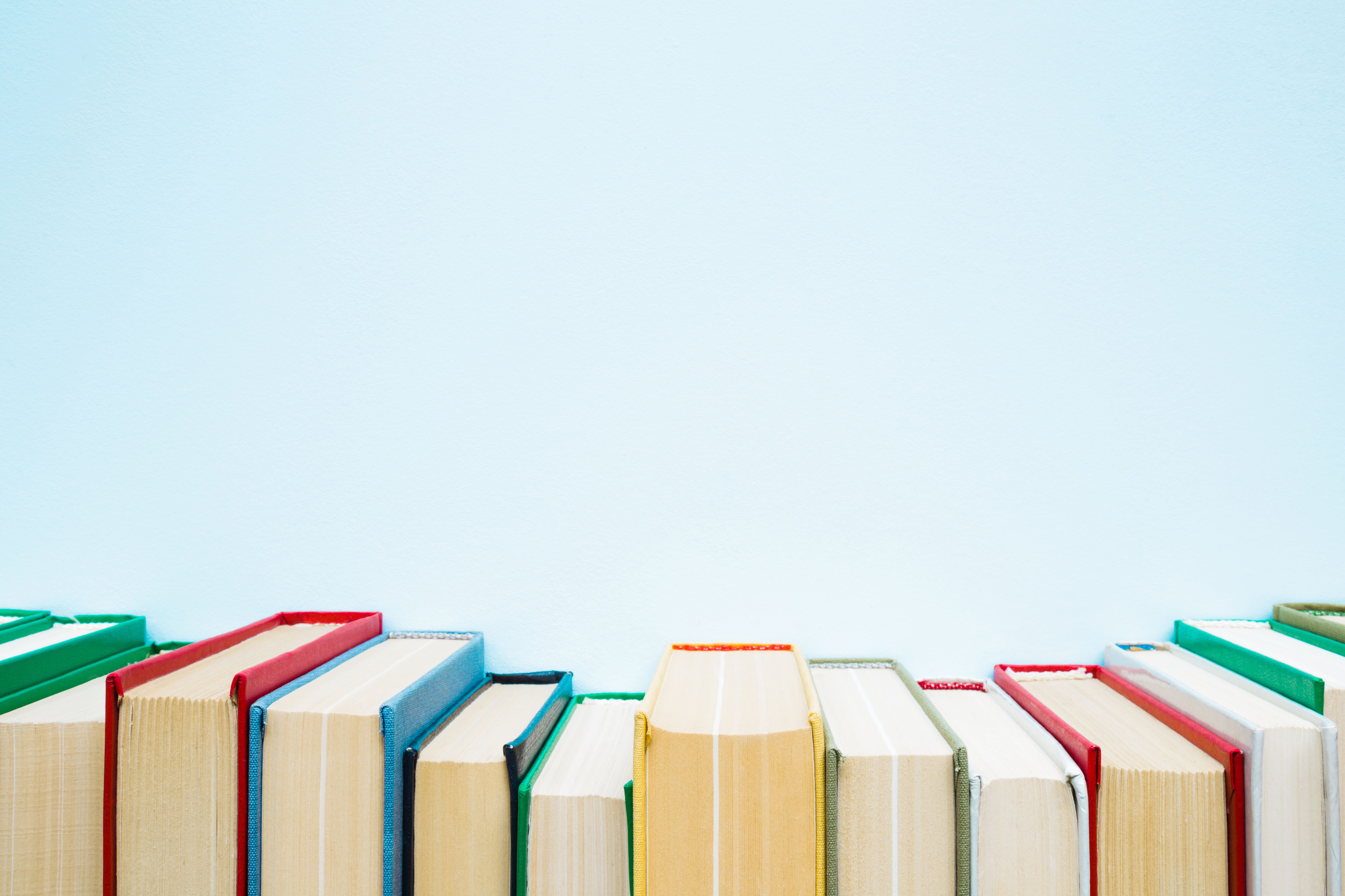 Do you have rows of books lying around that you've already read? Put them to good use